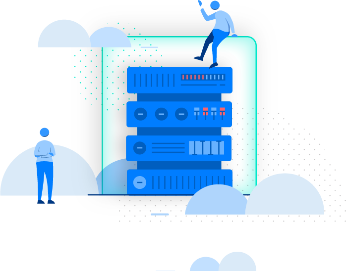 cloud backup illustration